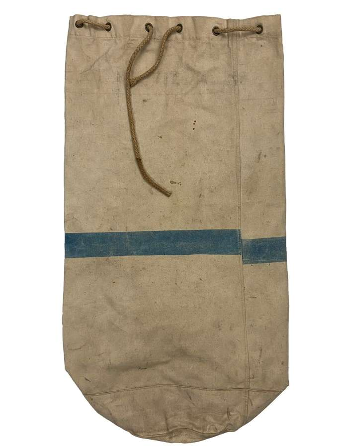 Original 1942 Dated British White Kit Bag