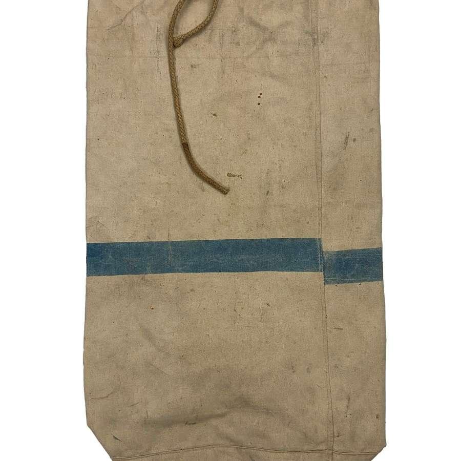 Original 1942 Dated British White Kit Bag