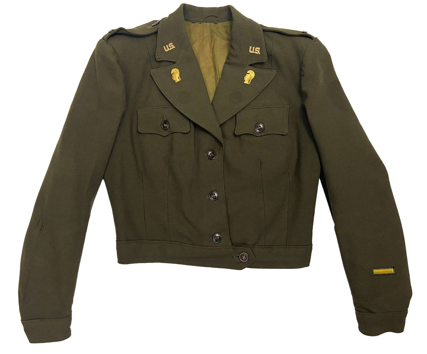 Original WW2 US Women's Army Corps ETO Officers Jacket