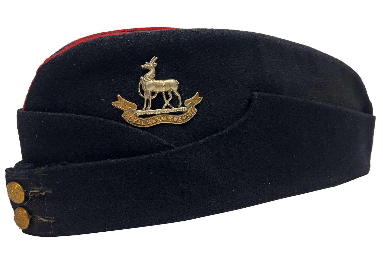 Original Royal Warwickshire Regiment Coloured Field Service Cap
