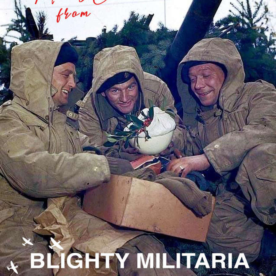 Merry Christmas from Blighty Militaria!