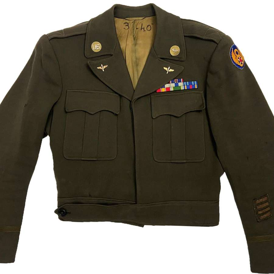 Original 1945 Dated USAAF Officers Cut Down Tunic