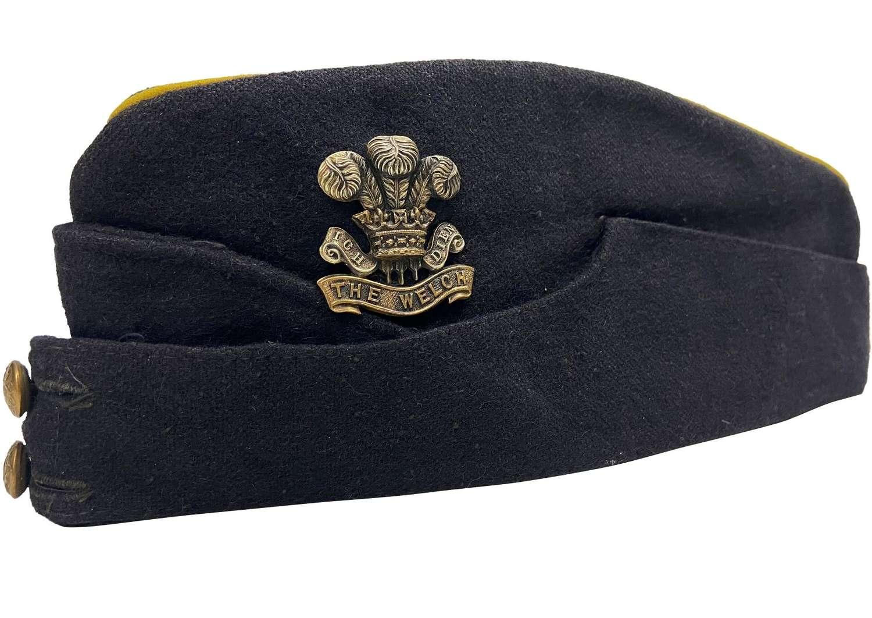 Original Welch Regiment Coloured Field Service Forage Cap