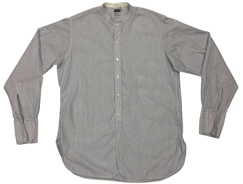 Original 1960s Men's Collarless Shirt by 'Llyod'