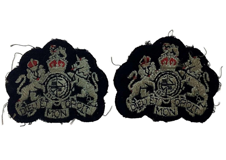 Original WW2 RAF Warrant Officers Rank Badges