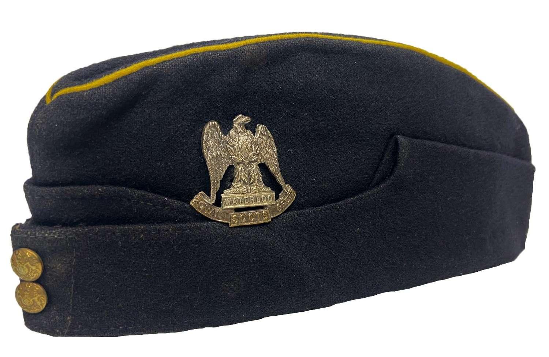 Original Royal Scots Greys Coloured Field Service Cap