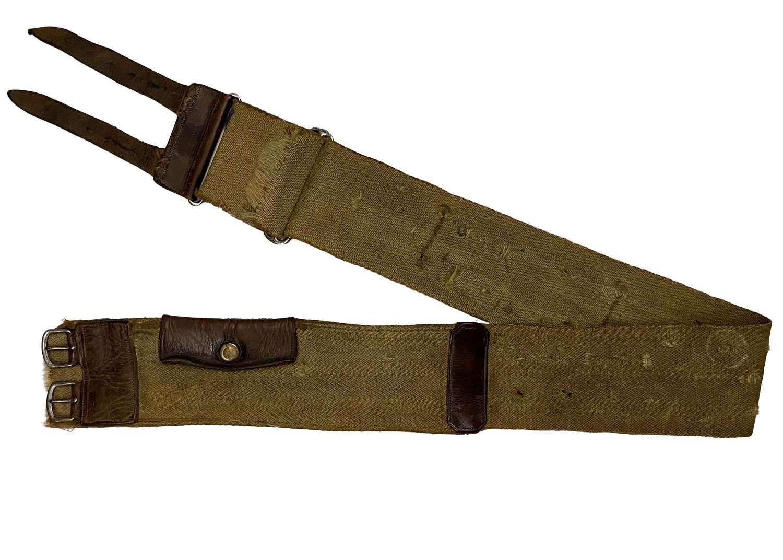 Original Great War Period Money Belt