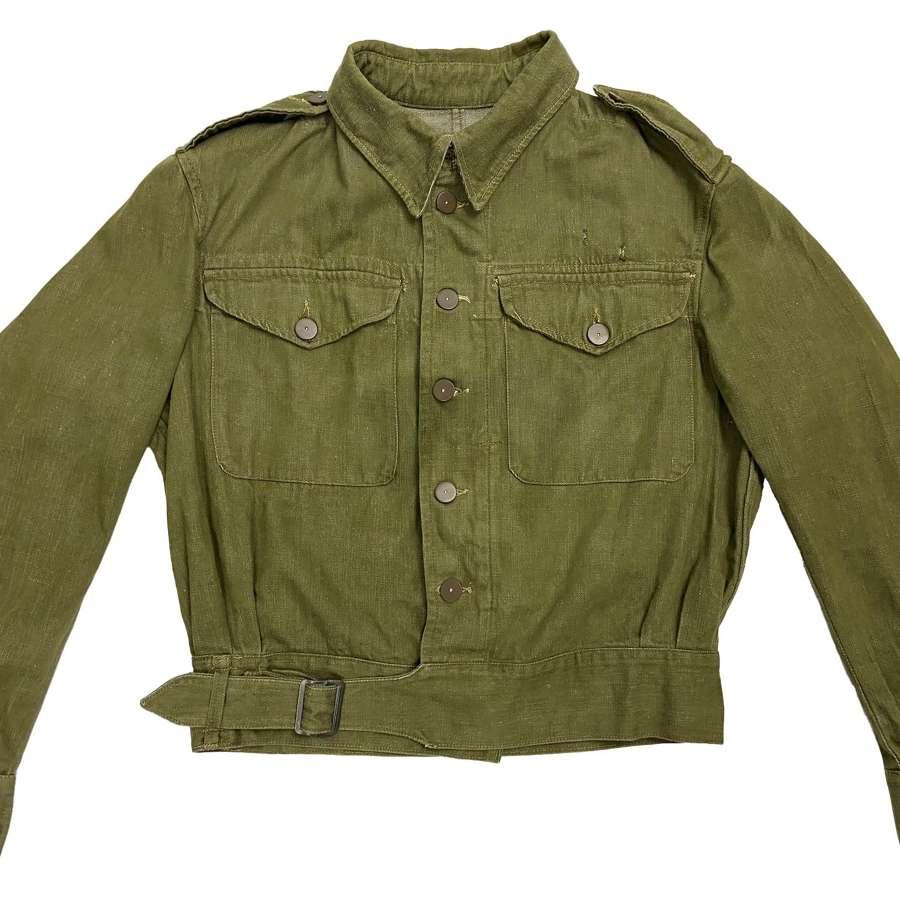 Original 1949 Dated British Army Denim Battledress - Size 9