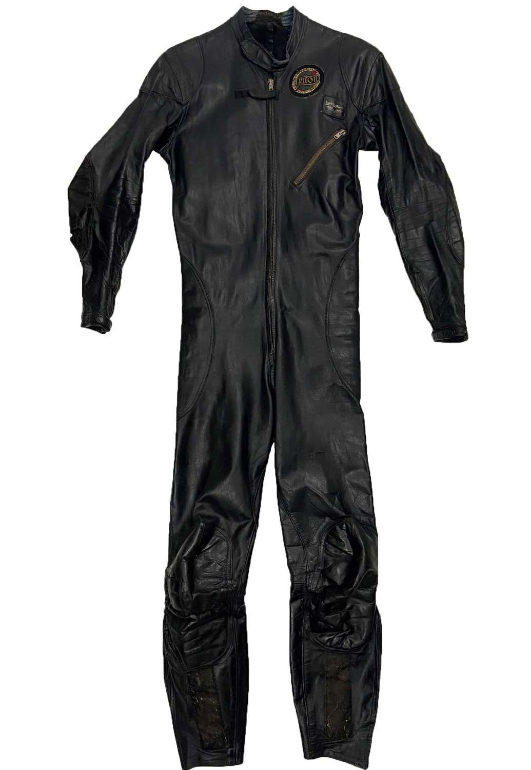Original 1950s Lewis Leathers One Piece Racing Suit - Size 38