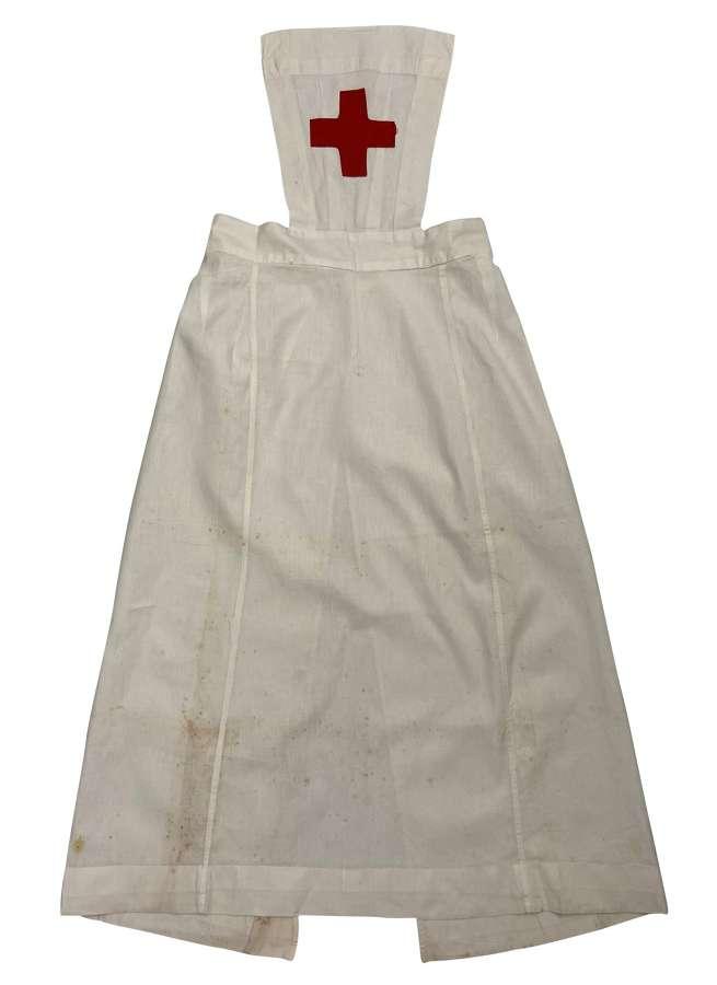Original 1930s 1940s WW2 Period Nurses Apron