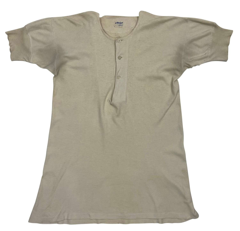Original Early 1950s Men's Undershirt by 'St. Michael'