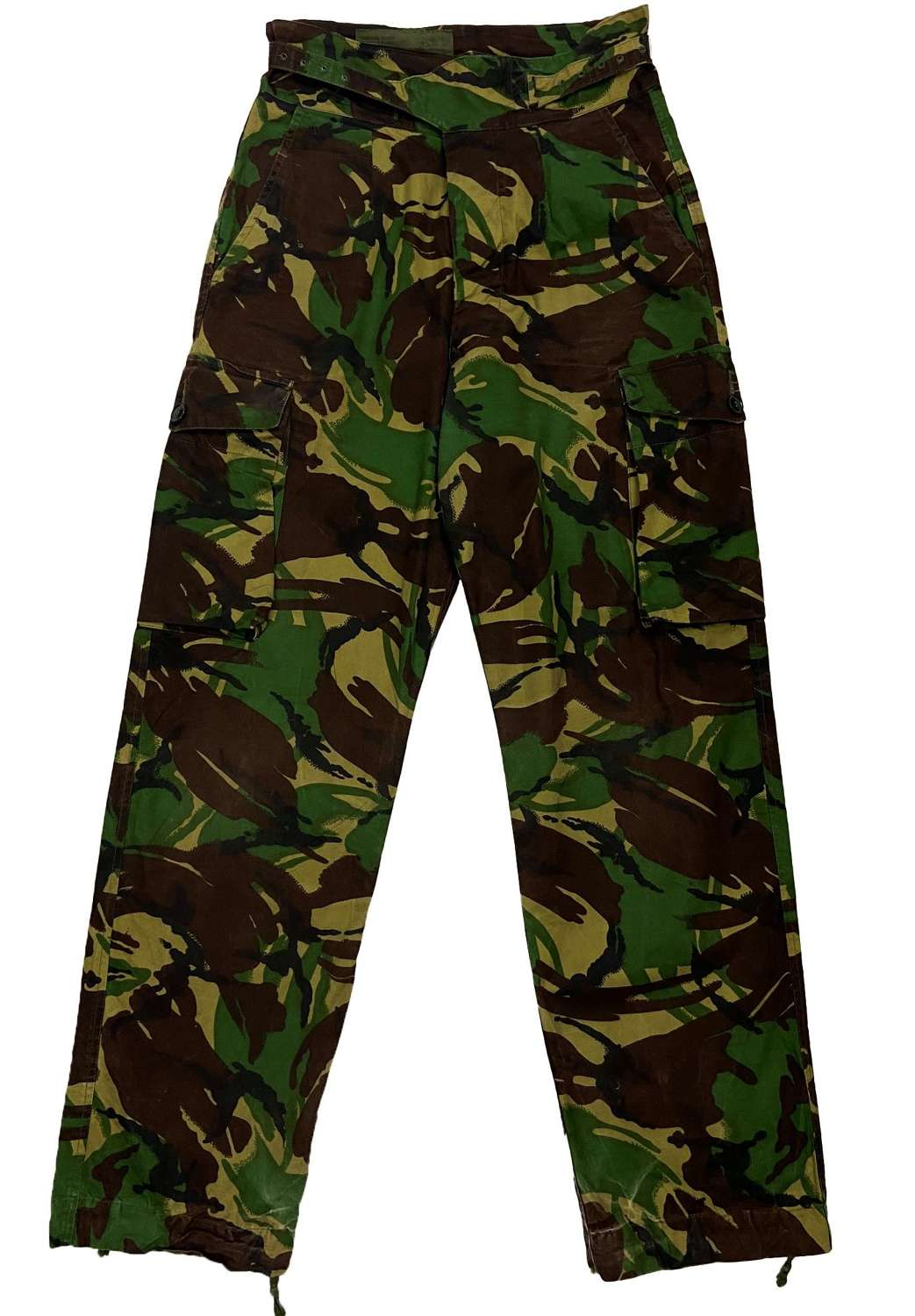 Original 1970s British Army DPM Windproof Trousers