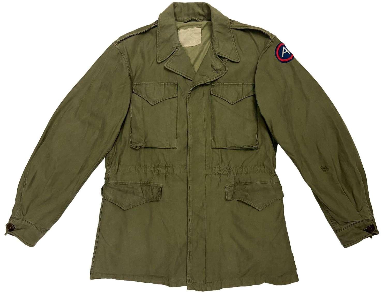 Original WW2 US Army M43 Combat Jacket