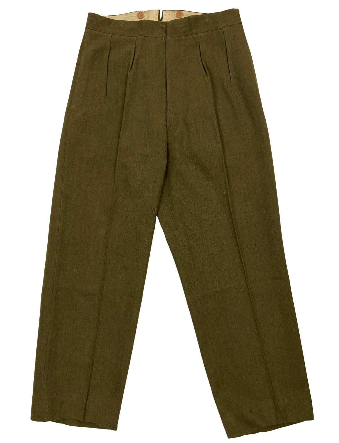Original 1940s British Army Officers Service Dress Trousers