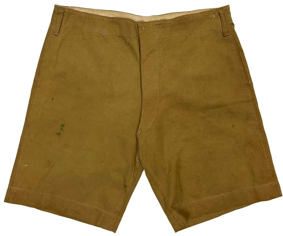 Original Early 20th Century Khaki Drill Shorts - Great War Officer?