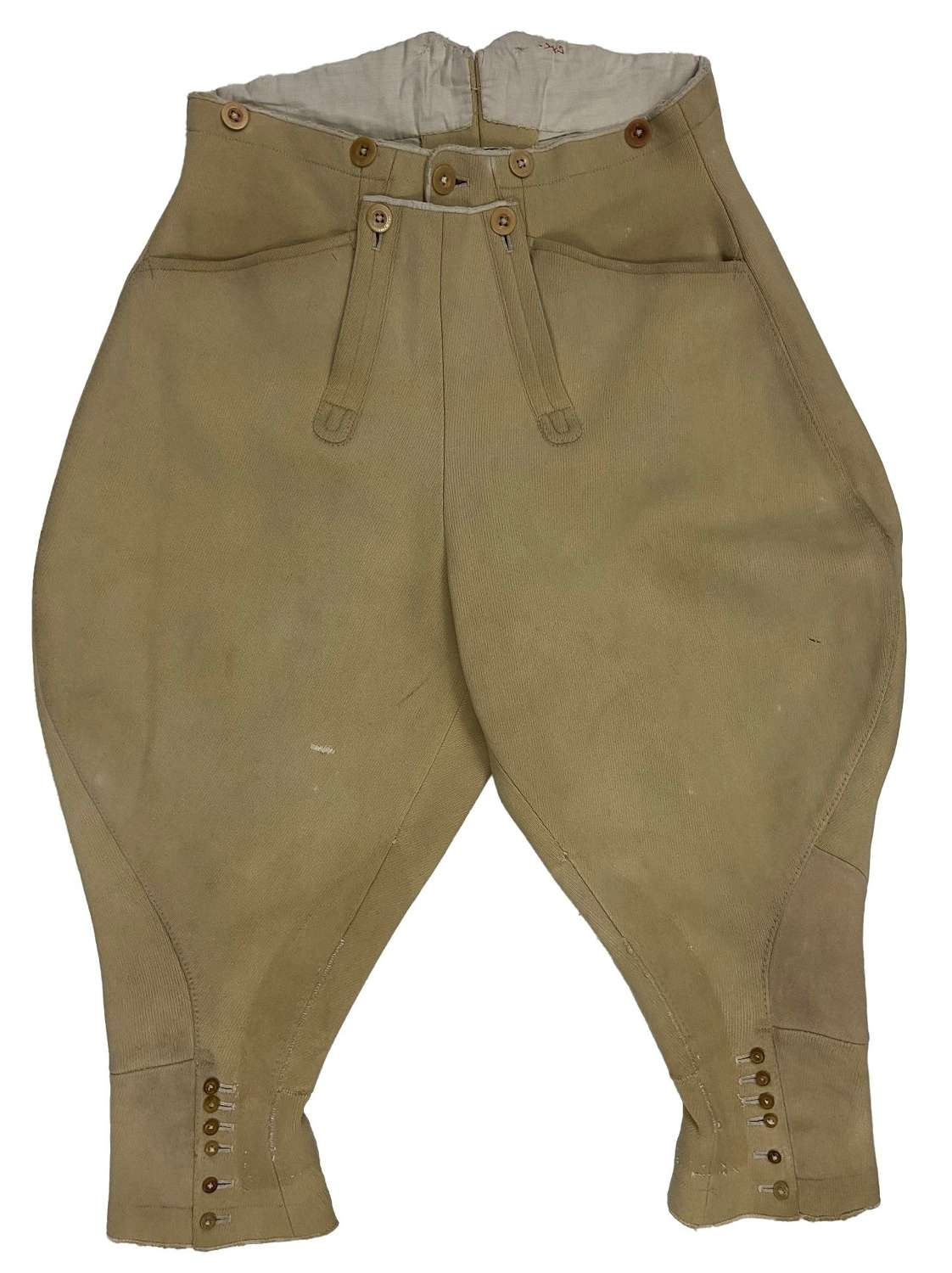 Original 1930s Men's Whipcord Breeches by 'Bernard Weatherill Ltd'