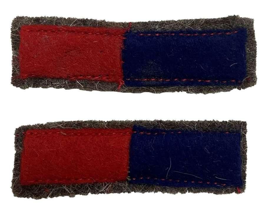 Original Royal Engineers / Royal Artillery Arm of Service stripes