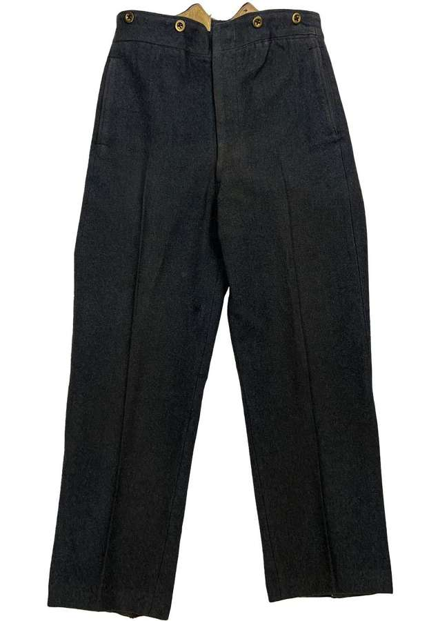 Original 1942 Dated RAF Ordinary Airman's Trousers