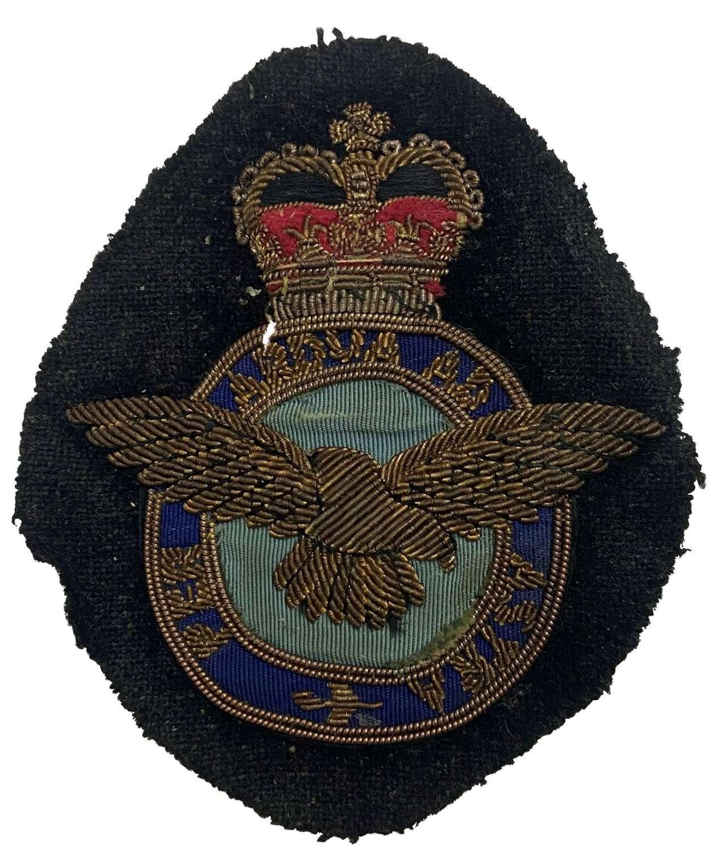 Original 1950s RAF Bullion Blazer Badge