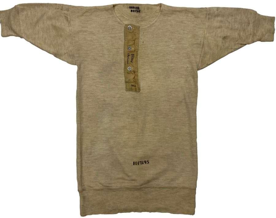 Original WW2 RAF Woollen Undershirt - Payne