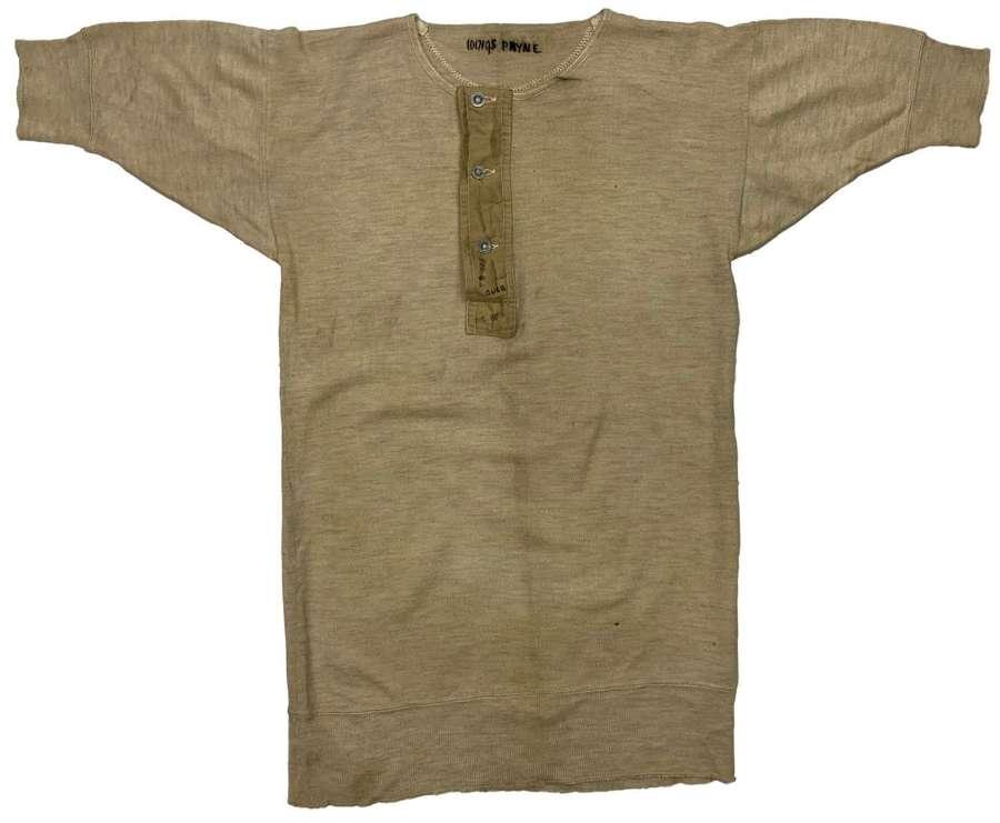 Original WW2 RAF Woollen Undershirt - Payne (2)