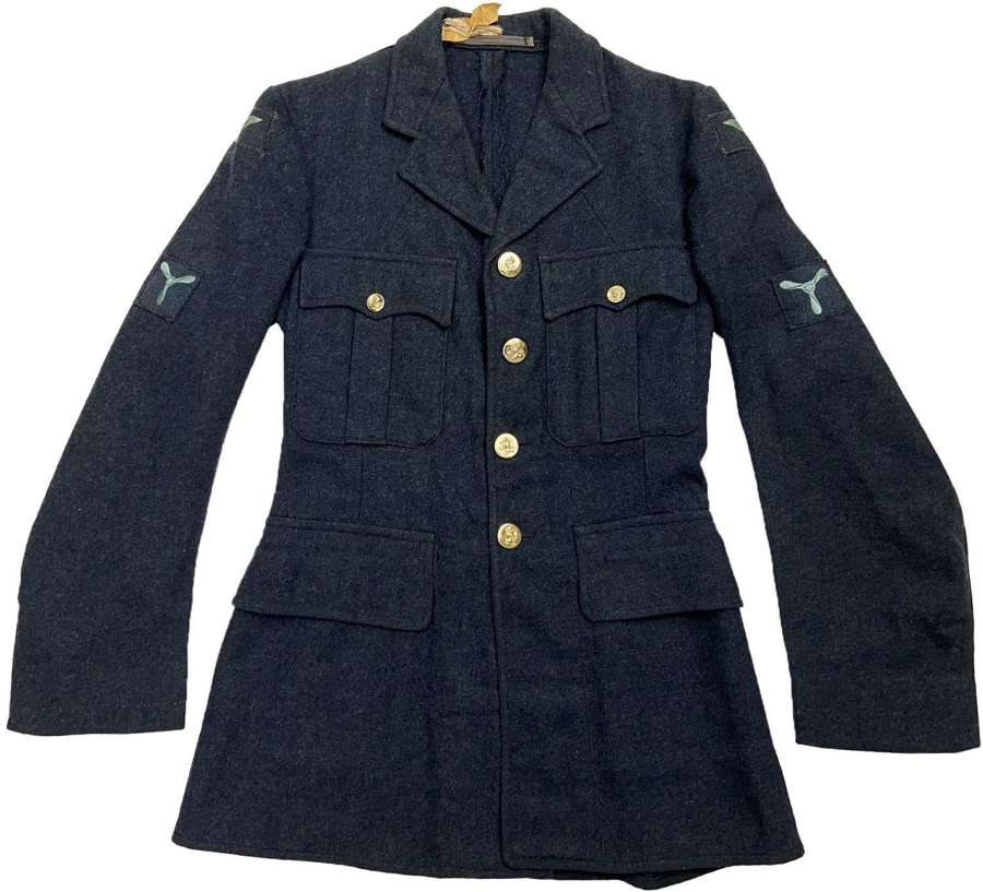 Original 1952 Dated RAF Ordinary Airman's Tunic - Size 13