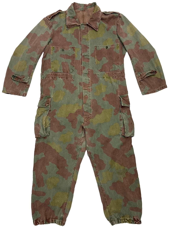 Original 1960s Italian Army M29 Camouflage Overalls