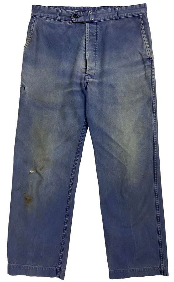 Late 20th Century French Workwear Trousers by 'Adolphe Lafont'