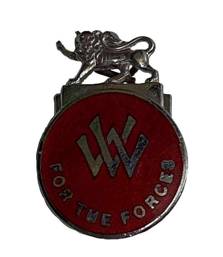 Original WW2 Voluntary Worker for the Forces Badge