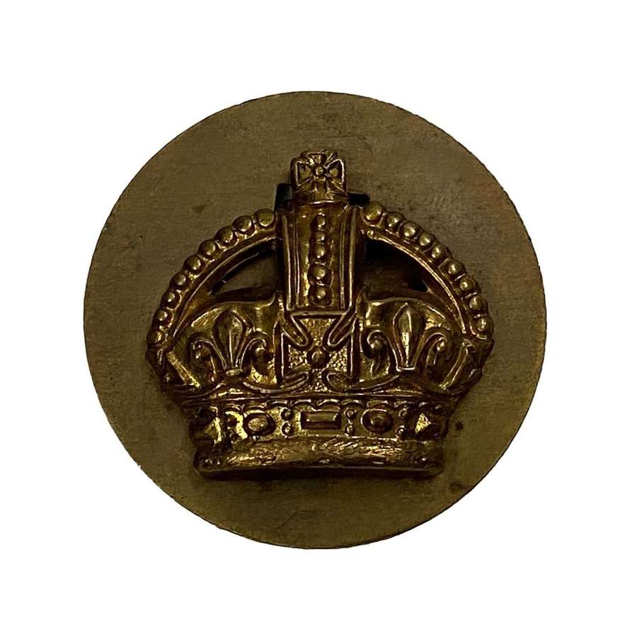 Original WW2 Period RAF Flight Sergeant Crown