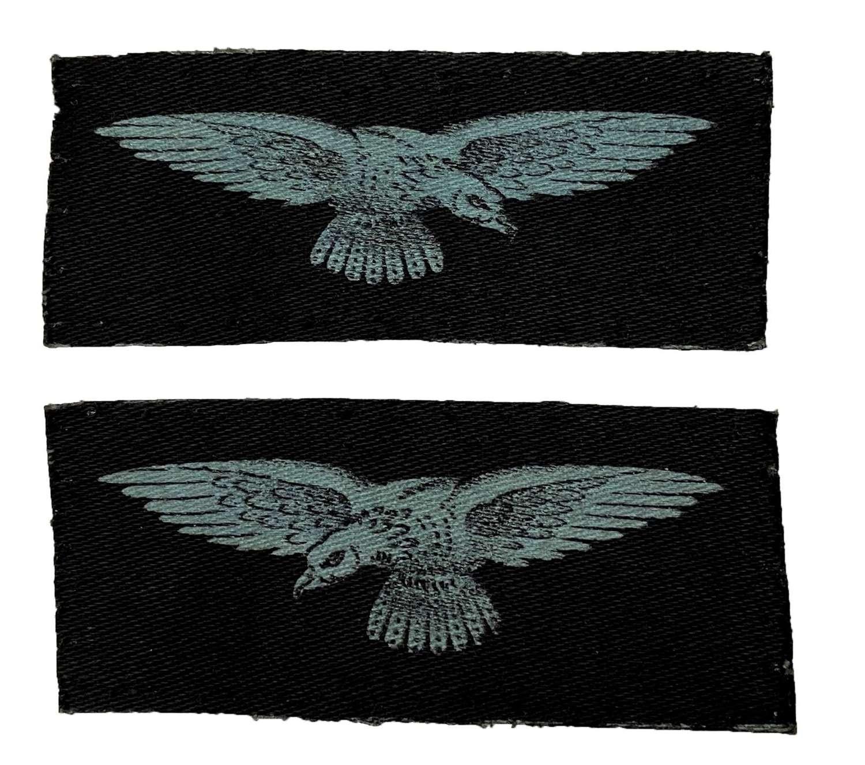 Original WW2 Printed RAF Sleeve Insignia