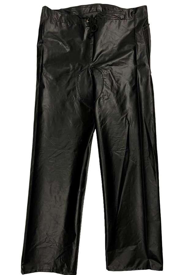 Original 1960s British Oilskin Trousers