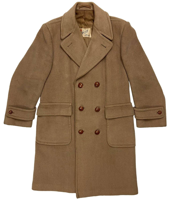 Original 1940s British Overcoat by 'CWS'