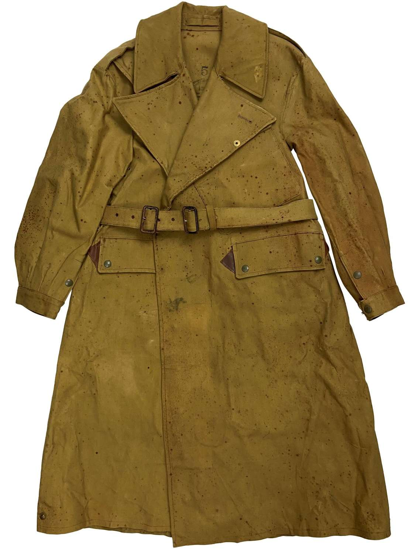 Original 1942 Dated British Army Dispatch Riders Coat