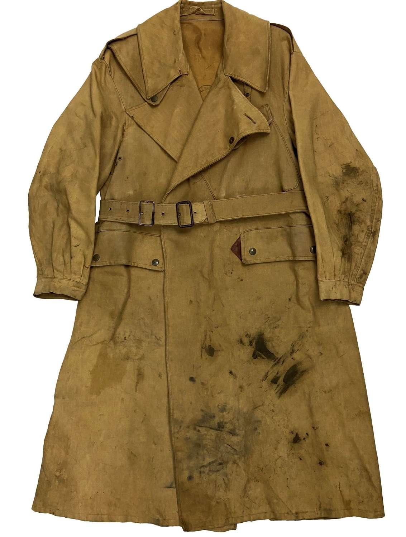 Original 1943 Dated British Army Dispatch Riders Coat - Size 5