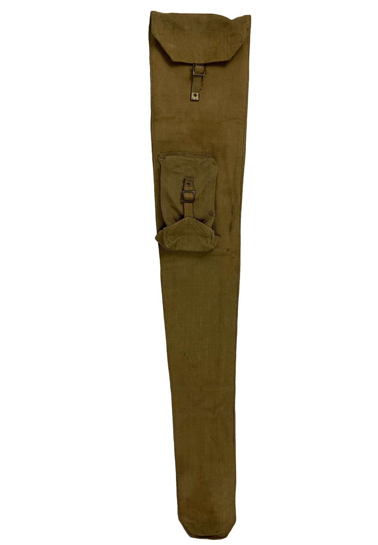 Original 1942 Dated British Webbing Rifle Slip