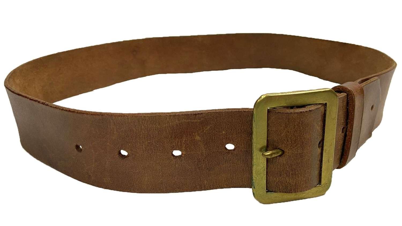 Original 1940 Dated British Army 1903 Pattern Leather Belt