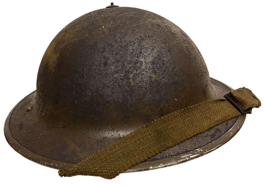 Original Early War British Army MKII Steel Helmet