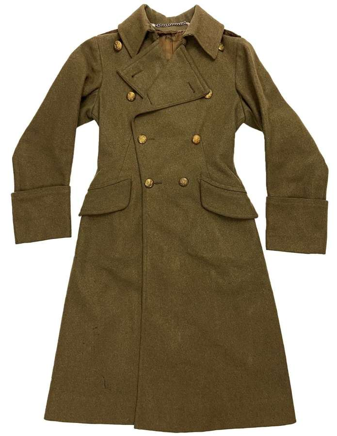 Original WW2 ATS Officers Greatcoat