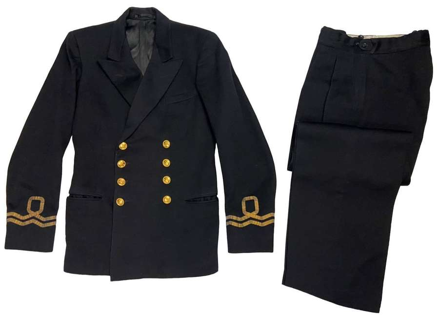 Original 1950s Royal Navy Volunteer Reserve Lieutenants Uniform