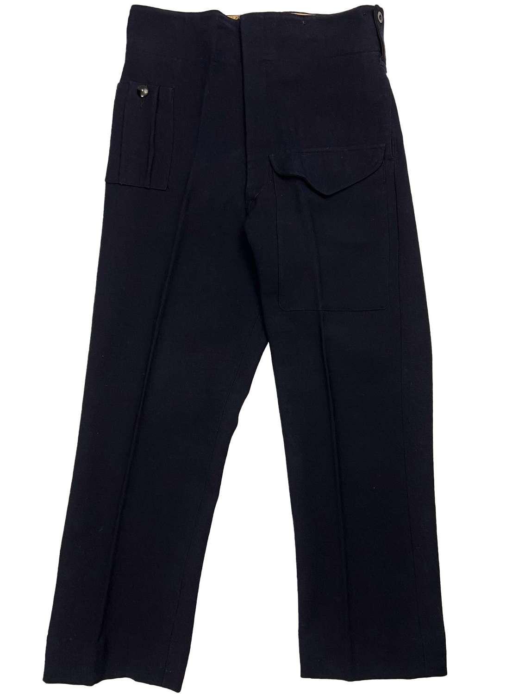 Original 1942 Dated Civil Defence Battledress Trousers ARP 58