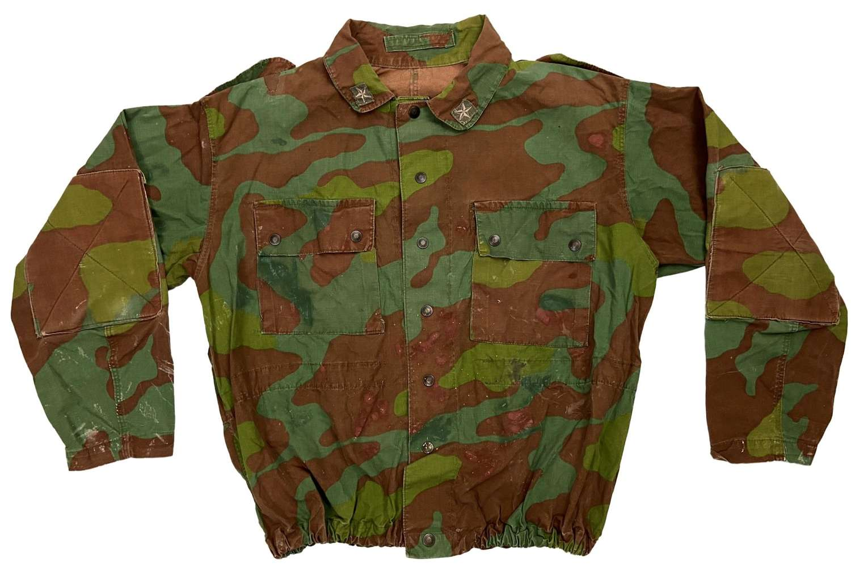 Original 1960s Italian M1929 Telo Mimetico Camouflage Jacket