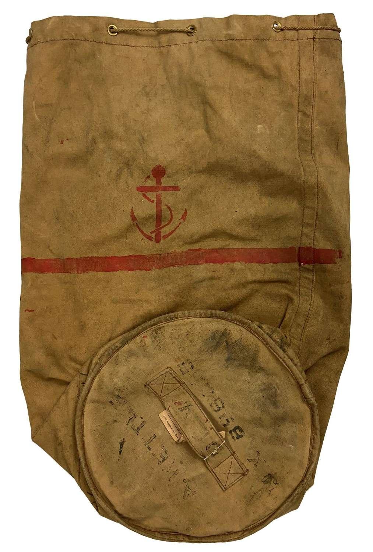 Original Royal Navy Large Able Seaman's Kit Bag