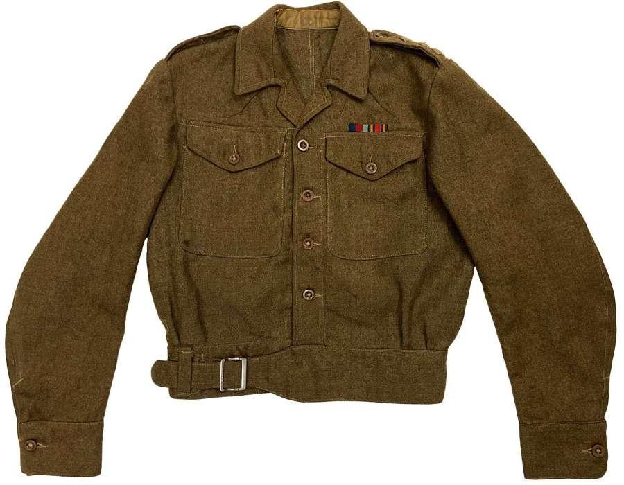Original 1942 Dated 1940 Pattern Austerity Battledress Blouse - ATS?