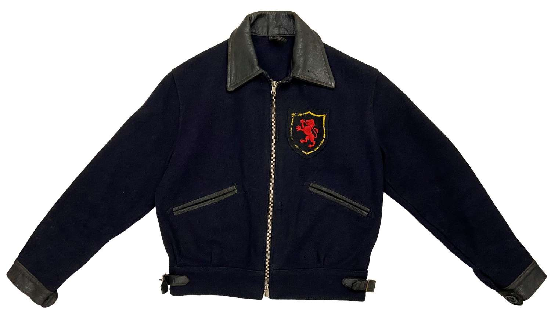Rare original 1940s British Wool Blouson Jacket by 'Shepherd Garment'