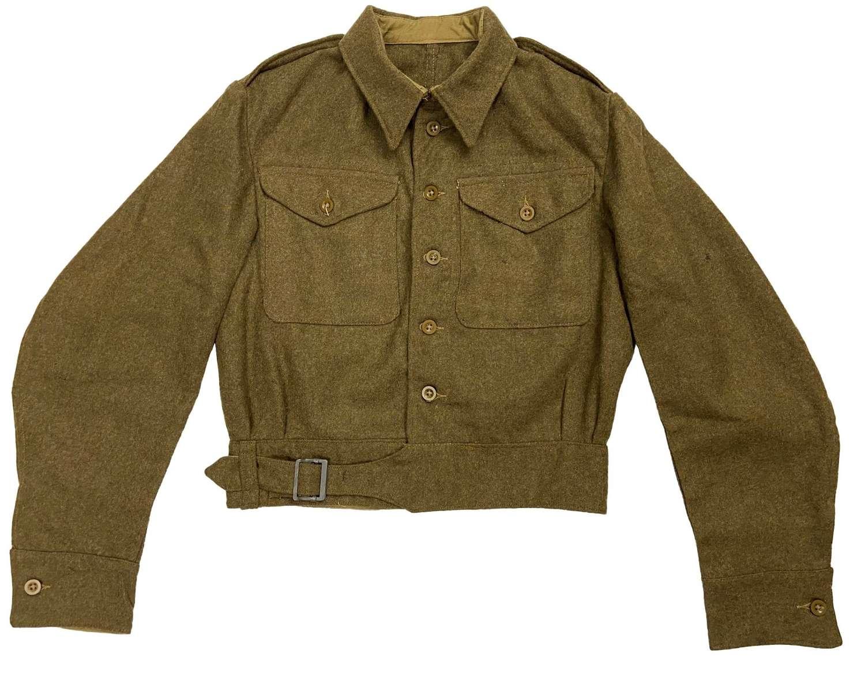 Original 1943 Dated 1940 Pattern Austerity Battledress Blouse Size 16