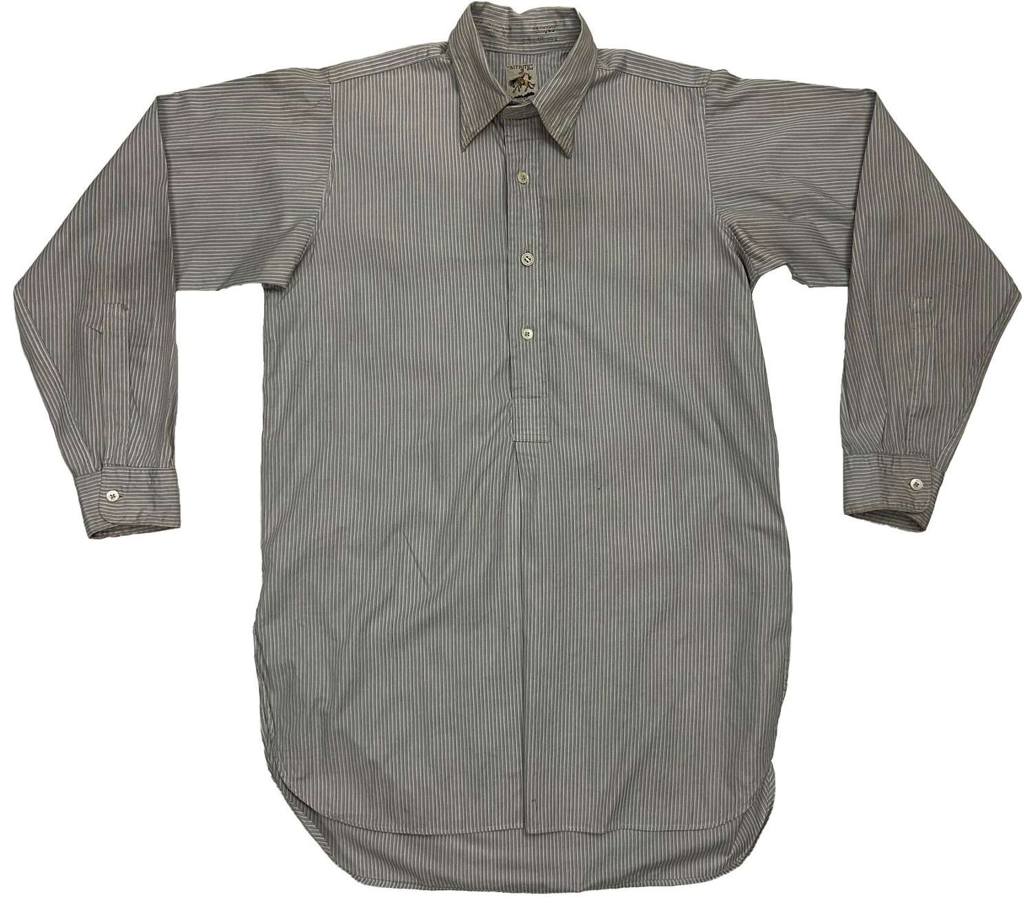 Original 1940s Men's Collared Shirt by 'Sitrite' (2)