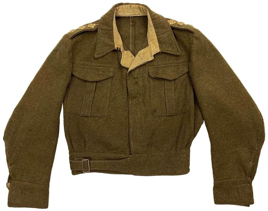 Original WW2 British Army 1940 Pattern Battledress Blouse - Size 12