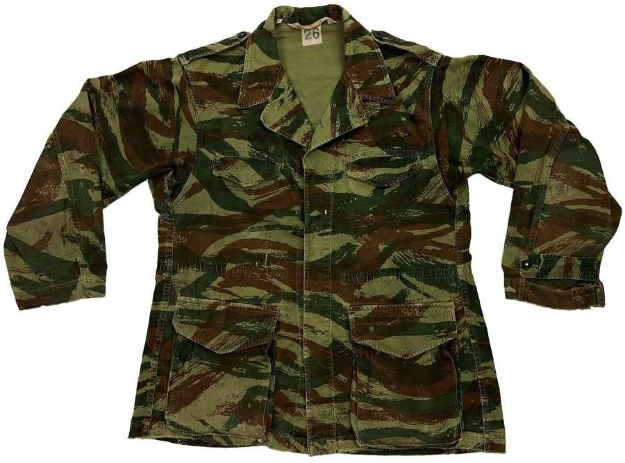 Original 1960s French Army TTA 1947/53 Camouflage Jacket