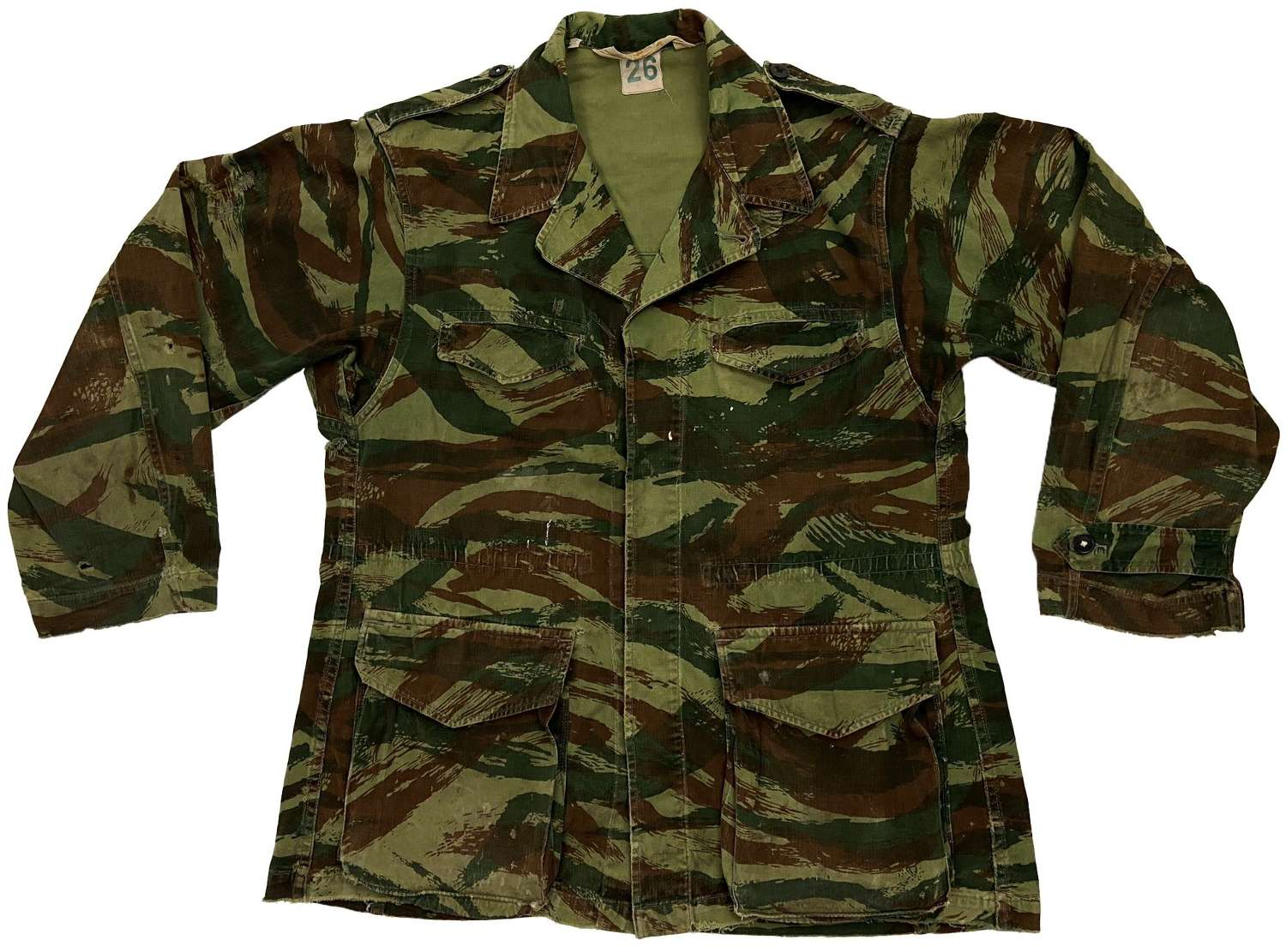 Original 1960s French Army TTA 1947/53 Camouflage Jacket
